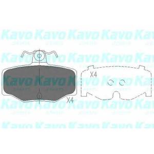 KAVO PARTS KBP-6511 Brake Pad