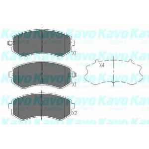 KAVO PARTS KBP-6514 Brake Pad