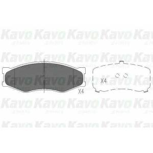 Комплект тормозных колодок, дисковый тормоз kbp6522 kavo - NISSAN CHERRY III (N12) Наклонная задняя часть 1.3