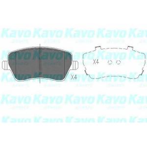 Комплект тормозных колодок, дисковый тормоз kbp6559 kavo - NISSAN MICRA III (K12) Наклонная задняя часть 1.2 16V