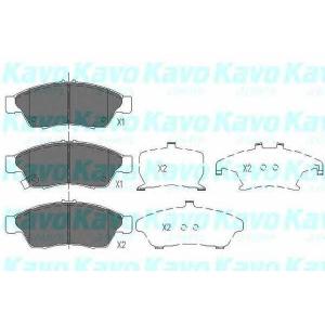 Комплект тормозных колодок, дисковый тормоз kbp8510 kavo - SUZUKI LIANA универсал (ER) универсал 1.3