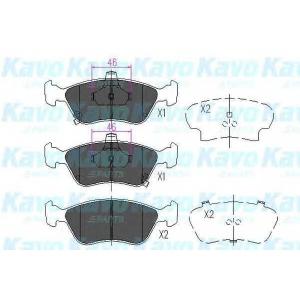 KAVO PARTS KBP-9006 Brake Pad