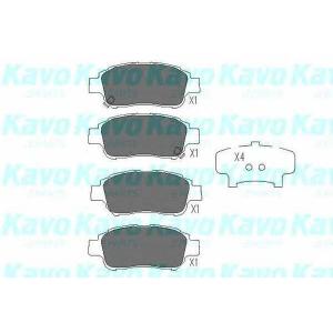 Комплект тормозных колодок, дисковый тормоз kbp9008 kavo - TOYOTA YARIS (SCP1_, NLP1_, NCP1_) Наклонная задняя часть 1.0 16V