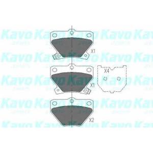 Комплект тормозных колодок, дисковый тормоз kbp9013 kavo - TOYOTA YARIS (SCP1_, NLP1_, NCP1_) Наклонная задняя часть 1.0 16V