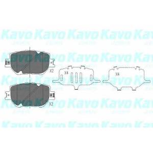 KAVO PARTS KBP-9015 Brake Pad