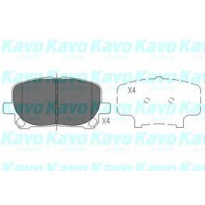 Комплект тормозных колодок, дисковый тормоз kbp9021 kavo - TOYOTA AVENSIS VERSO (_CLM2_, _ACM2_) вэн 2.0 VVT-i