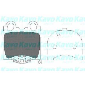 Комплект тормозных колодок, дисковый тормоз kbp9066 kavo - LEXUS GS (JZS147) седан 300