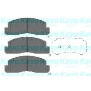 KAVO PARTS kbp-9088 Колодки тормозные передние
