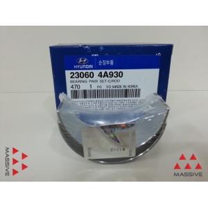 Вкладыши 1 шейка Red STD шатунные 2.5 CRDI 140л.с. 230604a930 hyundaikia -