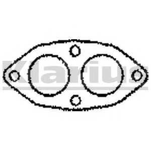 410193 klarius Прокладка, труба выхлопного газа