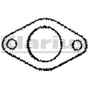 KLARIUS 410356 Прокладка, труба выхлопного газа
