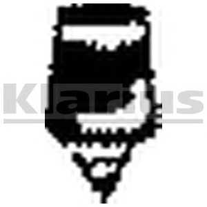 Буфер глушителя (AUDI A6 94-96) 420220 klarius -