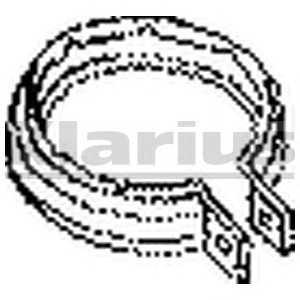 KLARIUS 430349 Монтажный комплект, глушитель