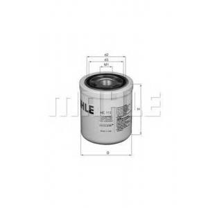 KNECHT HC113 Фильтр масляный SCANIA (TRUCK) (пр-во Knecht-Mahle)
