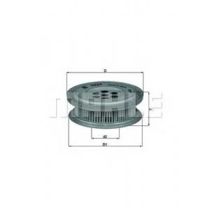 Гидрофильтр, рулевое управление hx44 mahle - MERCEDES-BENZ 190 (W201) седан E 1.8 (201.018)