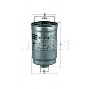 Топливный фильтр kc101 mahle - KIA MAGENTIS (MG) седан 2.0 CRDi