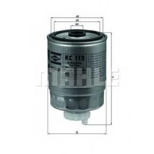 Топливный фильтр kc112 mahle - OPEL KADETT D (31_-34_, 41_-44_) Наклонная задняя часть 1.6 D