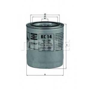KNECHT KC14 Топливный фильтр