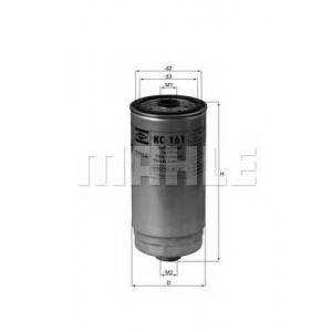Топливный фильтр kc161 mahle - RENAULT TRUCKS MASCOTT c бортовой платформой/ходовая часть c бортовой платформой/ходовая часть 120.35 (A00100003, A01100003)