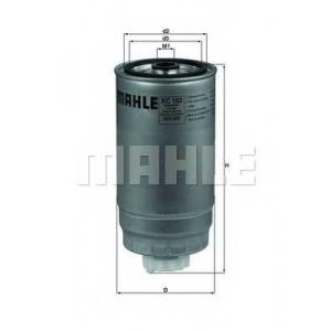 Топливный фильтр kc182 mahle - IVECO DAILY IV автобус автобус 35S14 G