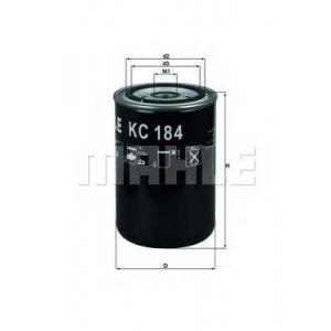 KNECHT KC184 Фильтр топл. SCANIA (TRUCK) (пр-во Knecht-Mahle)