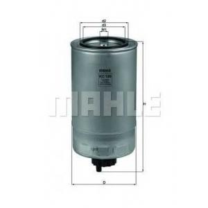 Топливный фильтр kc186 mahle - IVECO EuroCargo  60 E 10