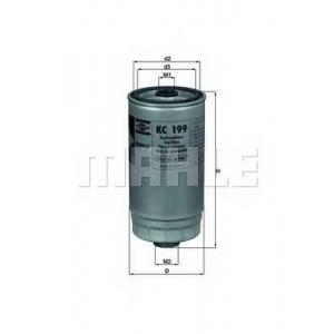 KNECHT KC199 Топливный фильтр