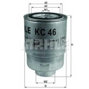 Топливный фильтр kc46 mahle - OPEL MONTEREY A (UBS_) вездеход закрытый 3.1 TD (UBS69_)