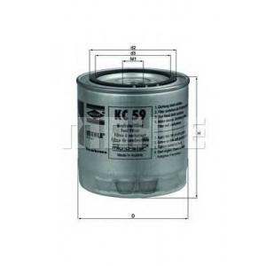 MAHLE KC59 Фильтр топлива  Mazda, Ford