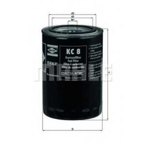 KNECHT KC8 Фильтр топл. IVECO (пр-во Knecht-Mahle)