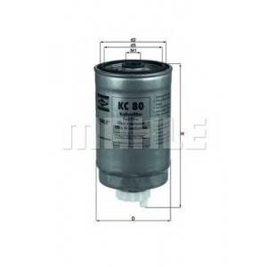 KNECHT KC80 Топливный фильтр