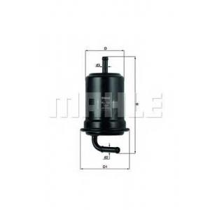 Топливный фильтр kl121 mahle - MAZDA MX-6 (GE) купе 2.0