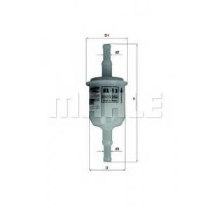 Топливный фильтр kl13of mahle - BMW 02 (E10) седан 1502