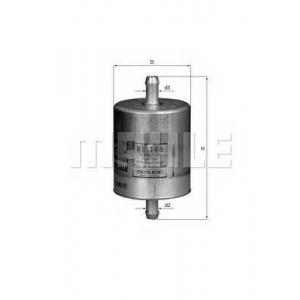 Топливный фильтр kl145 mahle -