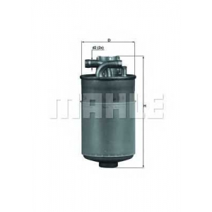 Топливный фильтр kl154 mahle - AUDI A8 (4D2, 4D8) седан 2.5 TDI