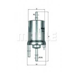 Топливный фильтр kl1561 mahle - SKODA FABIA (6Y2) Наклонная задняя часть 1.4 16V