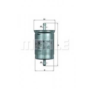 KNECHT KL171 Топливный фильтр