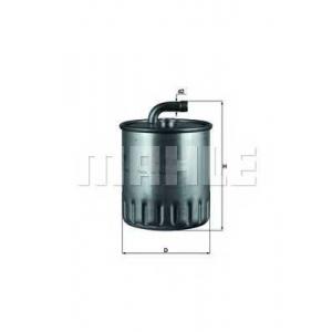 Топливный фильтр kl179 mahle - MERCEDES-BENZ M-CLASS (W163) вездеход закрытый ML 270 CDI (163.113)