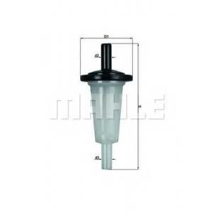 Топливный фильтр kl23of mahle - MERCEDES-BENZ 190 (W201) седан D 2.0 (201.122)
