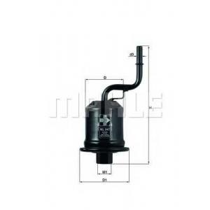 Топливный фильтр kl247 mahle - TOYOTA AVENSIS Liftback (_T22_) Наклонная задняя часть 2.0 VVT-i