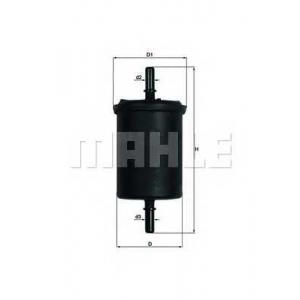 Топливный фильтр kl248 mahle - CITRO?N C4 (B7) Наклонная задняя часть 1.6 VTi 120