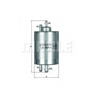 KNECHT KL254 Топливный фильтр
