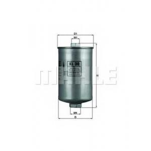 Топливный фильтр kl30 mahle - FORD ESCORT IV (GAF, AWF, ABFT) Наклонная задняя часть 1.4