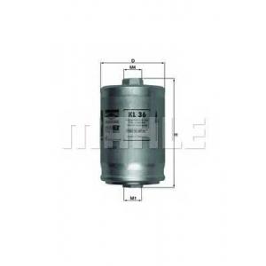 Топливный фильтр kl36 mahle - AUDI V8 (44_, 4C_) седан 3.6 quattro