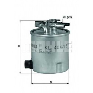 KNECHT KL404/25 Топливный фильтр
