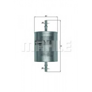 Топливный фильтр kl409 mahle - FORD MONDEO III седан (B4Y) седан 1.8 16V