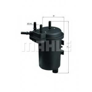 KNECHT KL432 Фильтр топливный RENAULT MEGANE II 1.5 DCI 02- (пр-во KNECHT-MAHLE)
