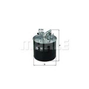 Топливный фильтр kl447 mahle - AUDI A8 (4E_) седан 4.0 TDI quattro