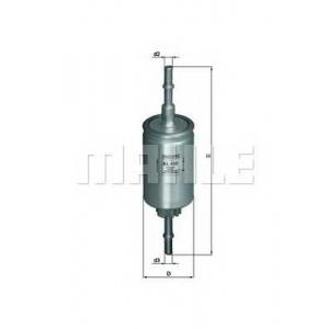 Топливный фильтр kl458 mahle - FORD FIESTA V (JH_, JD_) Наклонная задняя часть 1.4 16V
