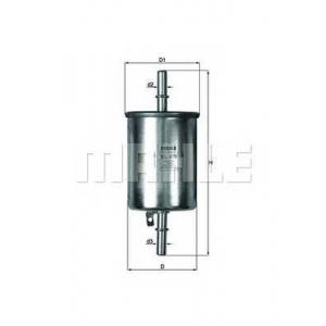 Топливный фильтр kl470 mahle - CHEVROLET AVEO седан (T250, T255) седан 1.2